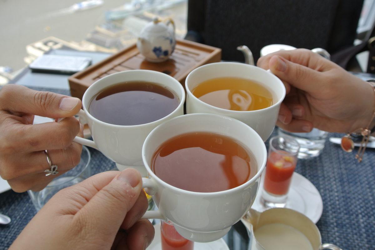 London: Afternoon Tea at Shangri-La