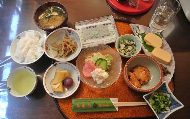 Japan 2016: Ryokan Heianbo and Traditional Japanese Breakfasts